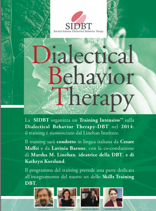 Training Intensivo in Dialectical Behavior Therapy (DBT)